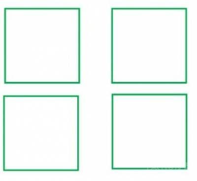 直线交边框黑白素材